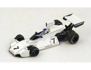 Spark Model S4344 BRABHAM BT44 C.REUTEMANN 1974 N.7 WINNER US GP 1:43 Modellino