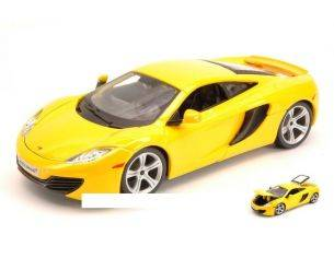 Bburago BU21074Y MC LAREN MP4-12C 2011 YELLOW 1:24 Modellino