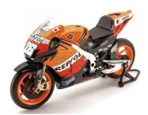 New Ray 57393 HONDA RC212 REPSOL DANIEL PEDROSA 2012 MOTO GP N.26 1:12 Modellino