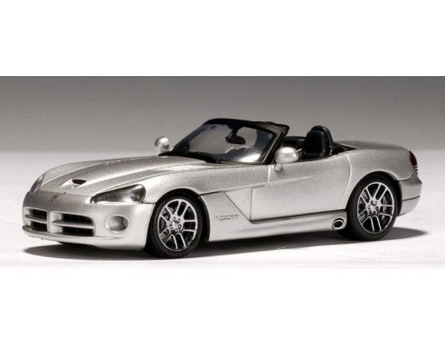 Auto Art / Gateway 51703 DODGE VIPER SRT-10 2003 SILVER 1/43 Modellino
