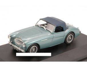Oxford OXFAH1001 AUSTIN HEALEY 100 BN1 1957 LIGHT BLUE METALLIC 1:43 Modellino