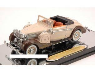 Signature SIGN43705 MAYBACH SW 38 SPORT CABRIO 1937 BEIGE/BROWN 1:43 Modellino