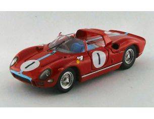 Art Model AM0292 FERRARI 330 P N.1 9th 500 KM SPA 1965 M.PARKES 1:43 Modellino