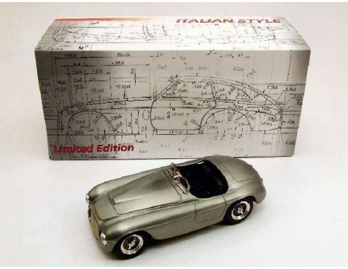 Art Model AM1001 FERRARI 166 MM SPIDER 1949 METALLO SATINATO 1:43 Modellino