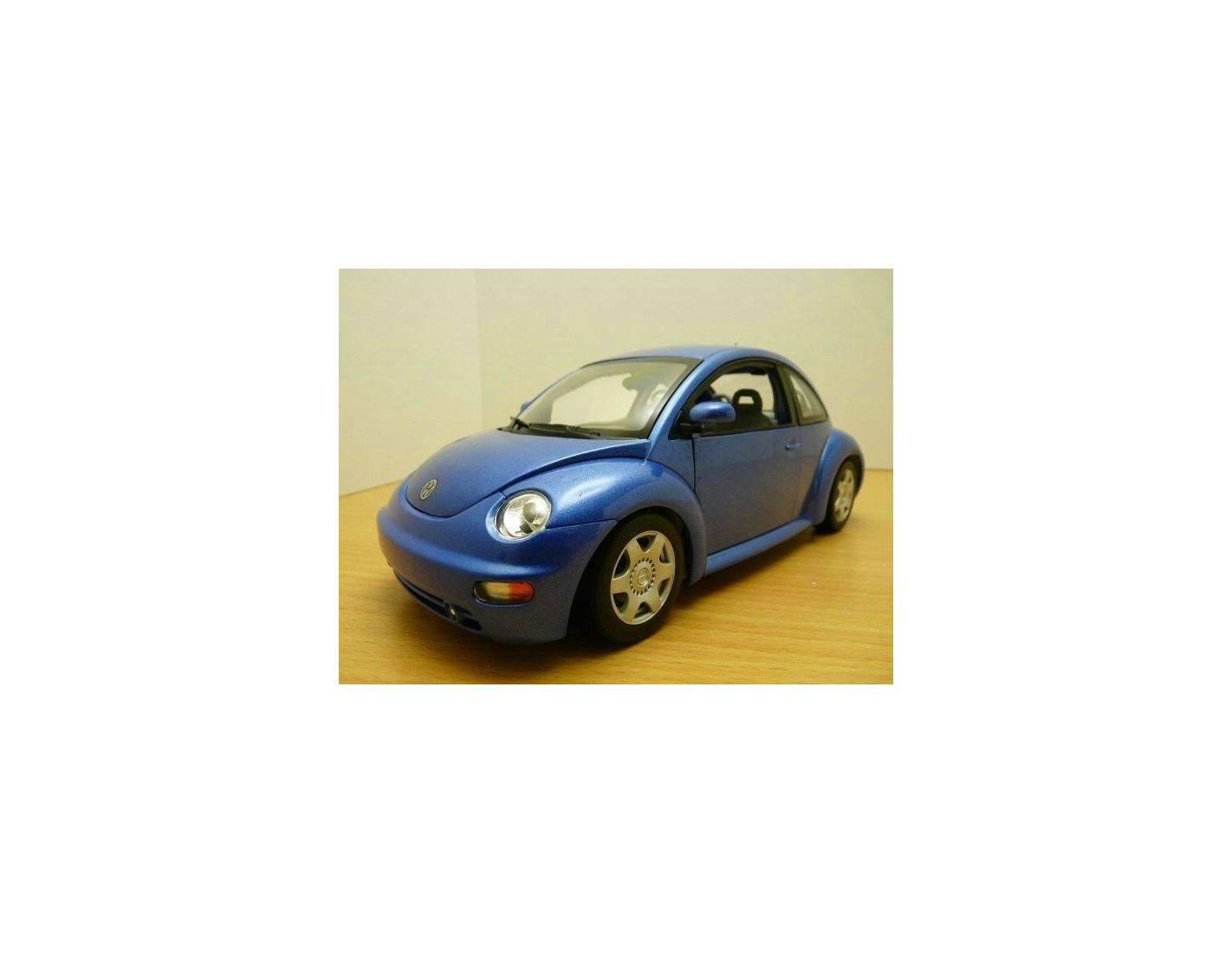Auto Art / Gateway 01031 VW NEW BEETLE COUPE '98 BLU 1/18 Modellino