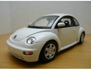 Auto Art / Gateway 01035 VW NEW BEETLE COUPE'98 BIANCO 1/18 Modellino