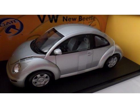 Auto Art / Gateway 01038 VW NEW BEETLE COUPE'98 SILVER 1/18 Modellino
