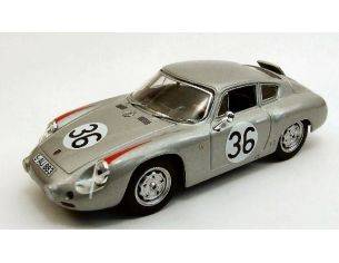 Best Model BT9359 PORSCHE ABARTH N.36 10th LE MANS 1961 H.LINGE-B.PON 1:43 Modellino