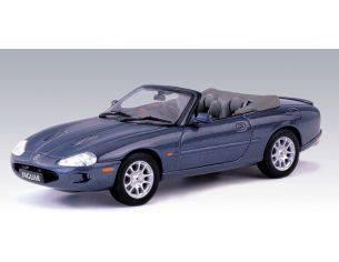 Auto Art / Gateway 53702 JAGUAR XKR CABRIO BLUE 1/43 Modellino