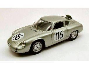 Best Model BT9412 PORSCHE ABARTH N.116 6th TARGA FLORIO 1960 LINGE-STRAHLE-LISSMANN 1:43 Modellino