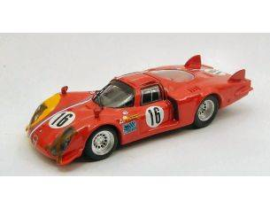 Best Model 9435 ALFA ROMEO 33.2 LUNGA SPA '68 1/43 Modellino