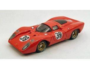 Best Model 9438 FERRARI 312P LE MANS 1970 1/43 Modellino