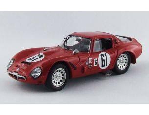 Best Model BT9558 ALFA ROMEO TZ2 N.61 RETIRED 12H SEBRING 1966 ZECCOLI-GEKI 1:43 Modellino