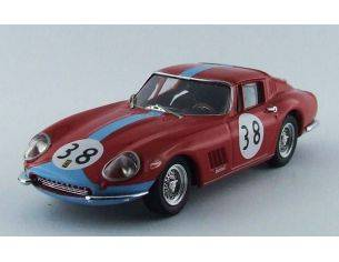Best Model BT9560 FERRARI 275 GTB/4 COUPE' N.38 WINNER 1000 KM PARIGI WESTEY-GASPAR 1:43 Modellino