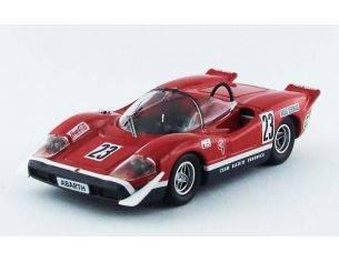 Best Model BT9568 ABARTH 2000 S N.23 14th SILVERSTONE 1969 ED SWART 1:43 Modellino