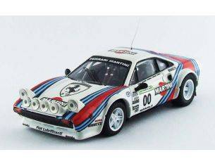 Best Model BT9569 FERRARI 308 GTB MARTINI N.00 FINLANDIA 2009 TEAM MAKELA 1:43 Modellino