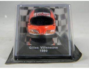 Best Model HA01 CASCO GILLES VILLENEUVE 1980 1/6 Modellino