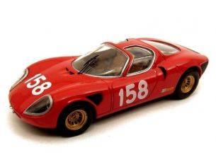 Best Model M47017 ALFA ROMEO 33.2 FRIBURGO '67 1/43 Modellino