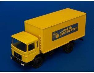 Conrad 3148 MAN TRUCK DEUTSCHE POST YELLOW 1/50 Modellino