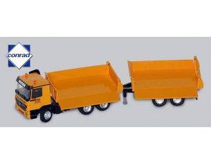 Conrad 40149 MB ACTROS WITH TIPPER & TRAILER 1/50 Modellino