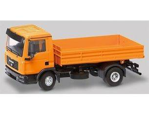 Conrad 67102 MAN TG-L 2AXLES 1/50 WITH LOW SIDE Modellino