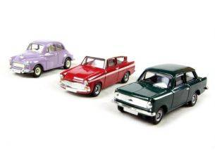 Corgi CR3003 SET 3PCS. CARS 1/76 Modellino