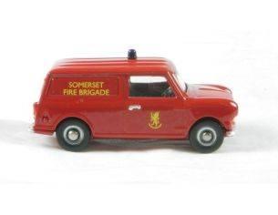 Corgi DG215001 MINI VAN-SOMERSET FIRE BRIDAGE 1/76 Modellino