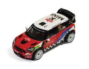 Ixo model RAM500 MINI JOHN COOPER WORKS N.37 2nd MONTE CARLO 2012 SORDO-BARRIO 1:43 Modellino