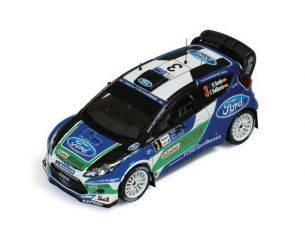 Ixo model RAM516 FORD FIESTA RS WRC N.3 RETIRED ARGENTINA 2012 SORDO-DEL BARRIO 1:43 Modellino