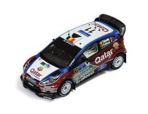 Ixo model RAM535 FORD FIESTA WRC N.11 3rd RALLY MEXICO 2013 T.NEUVILLE-N.GILSOUL 1:43 Modellino