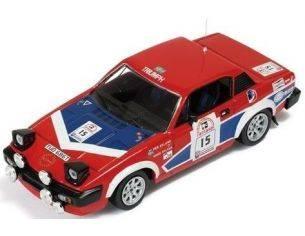 Ixo model RAC055 TRIUMPF TR7 V8 n.15 1/43 Modellino