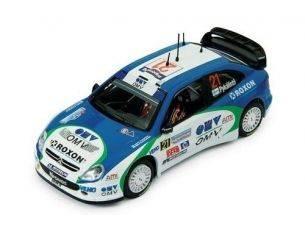 Ixo model RAM192 CITROEN XSARA WRC n.21 ITALIA'05 1/43 Modellino