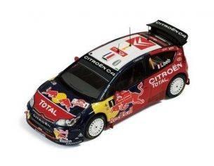 Ixo model RAM343 CITROEN C4 WRC n.1 JAPAN 2008 1/43 Modellino