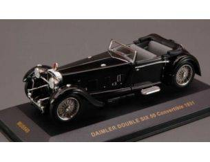 Ixo model MUS040 DAIMLER DOUBLE SIX 50 CONVERTIBLE 1931 BLACK 1:43 Modellino