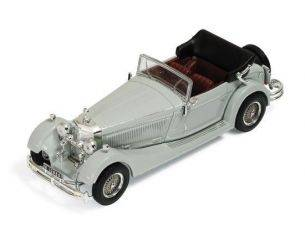 Ixo model MUS044 MERCEDES SS 1933 GREY W/BORDEAUX INTERIOR 1:43 Modellino
