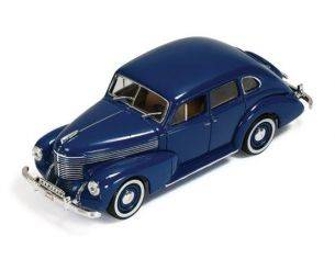 Ixo model MUS050 OPEL KAPITAN 4-DOOR SEDAN (SECOND GENERATION) 1950 BLUE 1:43 Modellino