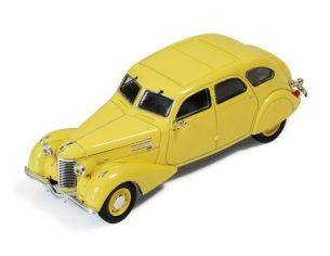 Ixo model MUS055 BERLIET 11CV DAUPHINE 1939 YELLOW 1:43 Modellino