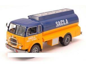 Ixo model TRU011 FIAT 682N 1966 SACLA FUEL TRASPORTER 1:43 Modellino