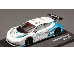 J-Collection JC240 NISSAN LEAF NISMO RC 2011 WHITE/BLUE 1:43 Modellino