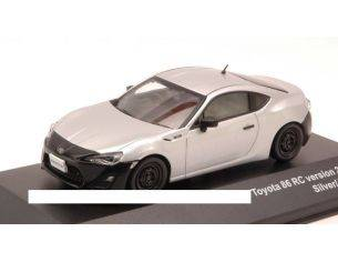 J-Collection JC280 TOYOTA 86 RC VERSION 2012 SILVER/BLACK 1:43 Modellino