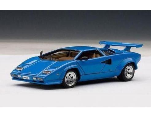 Auto Art / Gateway AA54534 LAMBORGHINI COUNTACH 5000S 1982 BLUE 1:43 Modellino