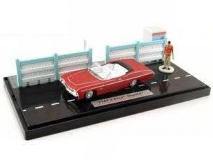 Jada 90457 CHEVY IMPALA+FIGURE SCARFACE'68 1/64 Modellino