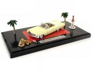 Jada 90521 CADILL.CONV.+FIGURE SCARFACE'63 1/64 Modellino