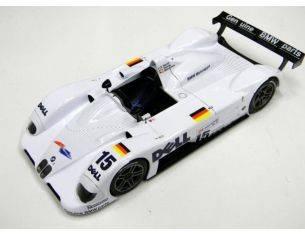 Kyosho 8532A BMW LMR V12 1999 n.15 WHITE 1/18 Modellino
