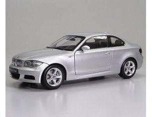 Kyosho KY8722S BMW 135 i COUPE' 2009 SILVER 1:18 Modellino