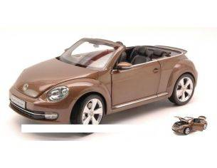 Kyosho KY8812TBR VW THE BEETLE CONVERTIBLE 2013 BROWN METALLIC 1:18 Modellino