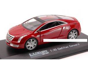 Luxury LX10064 CADILLAC CONVERJ 2012 RED 1:43 Modellino