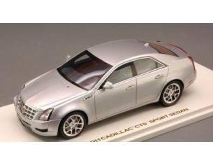 Luxury LX10087 CADILLAC CTS SPORT SEDAN-RADIAN 2011 SILVER METALLIC 1:43 Modellino