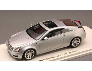 Luxury LX10093 CADILLAC CTS-V COUPE'-RADIAN 2011 SILVER METALLIC 1:43 Modellino