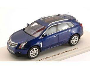 Luxury LX10095 CADILLAC SRX CROSSOVER 2011 IMPERIAL BLUE 1:43 Modellino